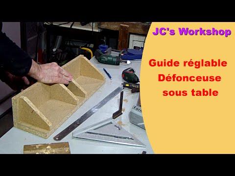 travail du bois construction du gabarit pour queue d. Black Bedroom Furniture Sets. Home Design Ideas