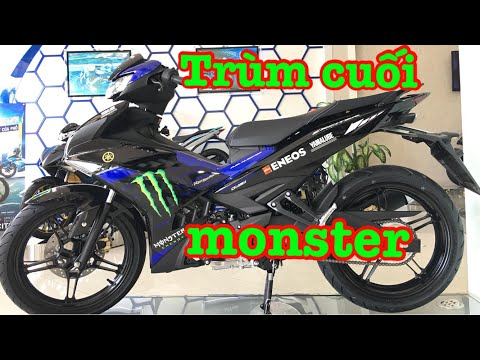 ▶️ Exciter 150 2019 Monster Energy thay thế Movistar ▶️Auto xe