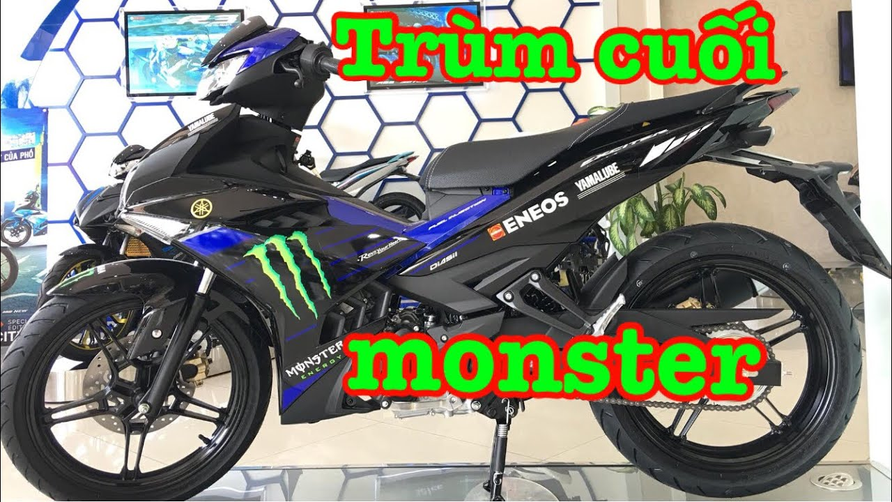 Last boss ▶ ️ Exciter 150 2019 Monster Energy replaces Movistar✅