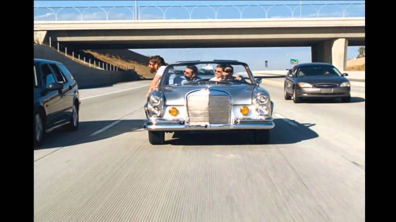 Girl Driving Car Wallpapers The Hangover Alan Gets Flicked Off Hd Youtube