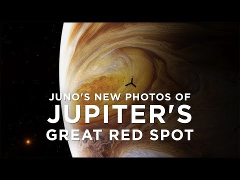NASA's Juno spacecraft takes new photos of Jupiter's Giant Red Spot