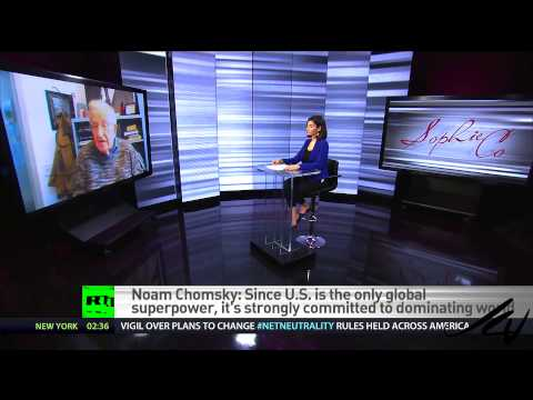 Noam Chomsky interviewed by Sophie Shevardnadze -  New World Disorder  - YouTube