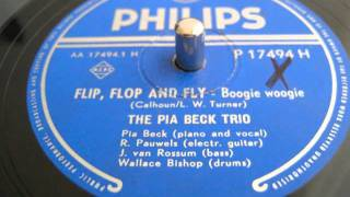 Flip, flop and fly - The Pia Beck Trio - 78 rpm