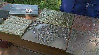 видео Жидкий металл для декора интерьера