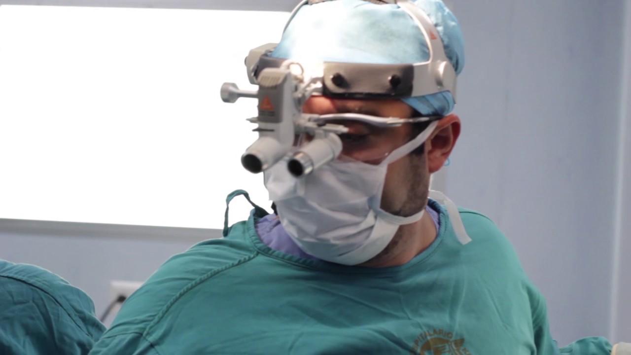Cirugía cerebral hipertensión