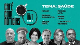 Café com Notícias: Miguel Rossetto, Mara Lane, Maria Inês, Pedro da Luz e Alberto Torres