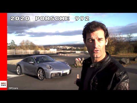 2020 Porsche 911 992 Driven By Mark Webber