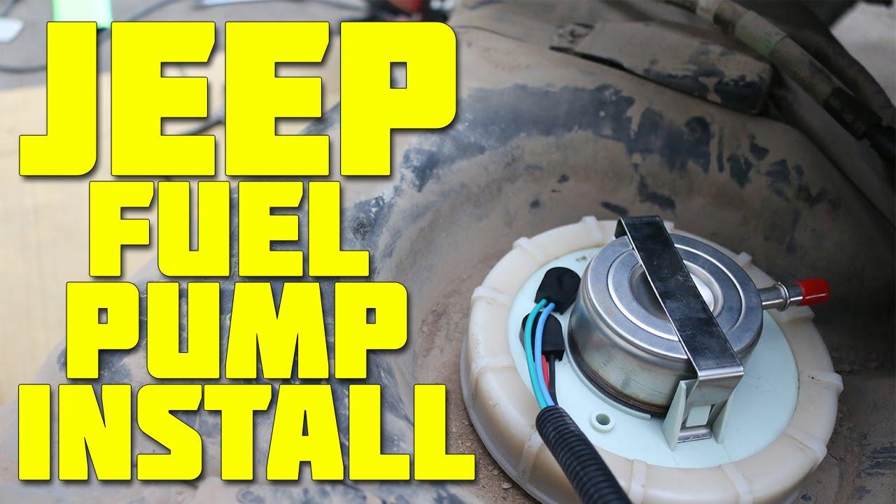 98' Jeep Wrangler Fuel Pump Install [TJ] - YouTube | 1998 Jeep Wrangler Fuel Pump Wiring Diagram |  | YouTube
