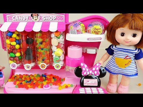 Baby doll and candy dispenser toys surprise toys play