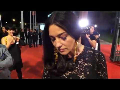 Monica Bellucci Red Carpet da Bond Girl - Festa del Cinema Roma