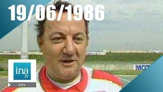 20h Antenne 2 du 19 juin 1986 - Mort de Coluche | Archive INA
