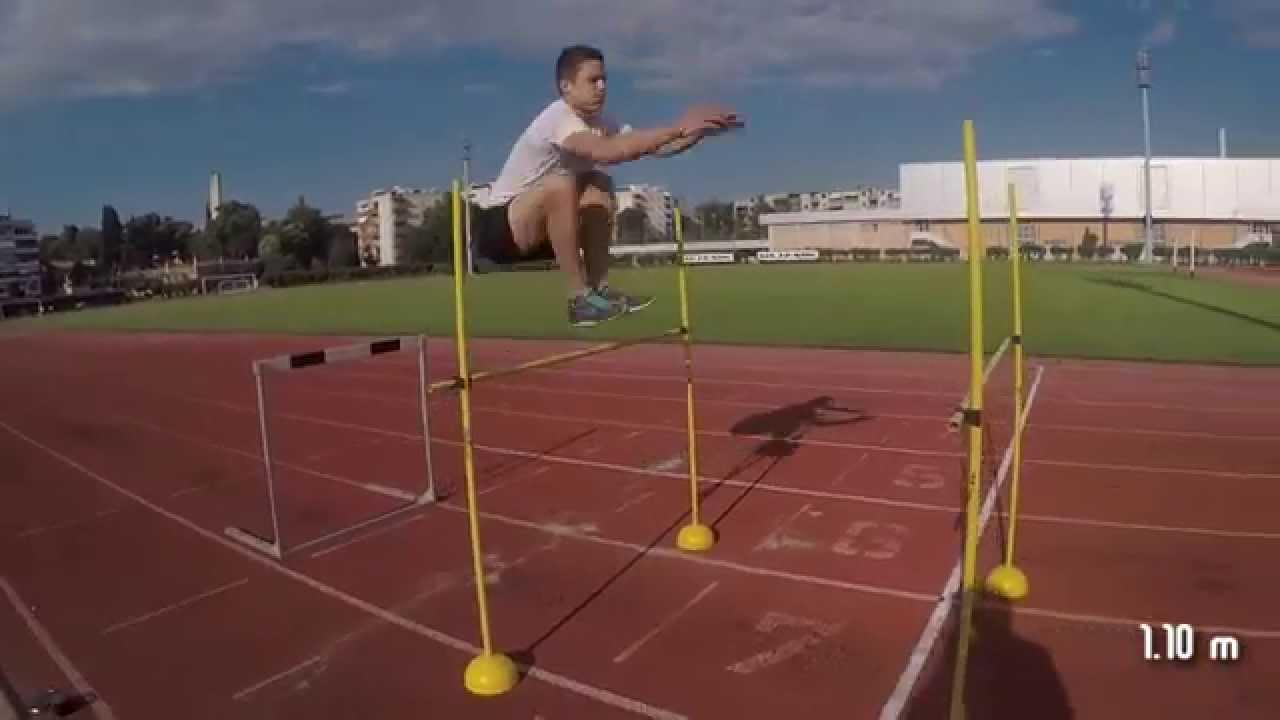 HIGH JUMP Training 30/06/15 - Alen 1.30 m hurdles PB ...