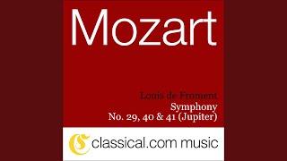 Symphony No. 29 in A Major, K. 201 - Menuetto e Trio
