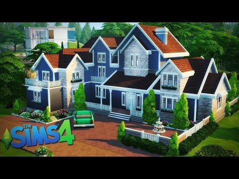 WILLA DLA DUŻEJ RODZINY - The Sims 4 Speed Build thumbnail