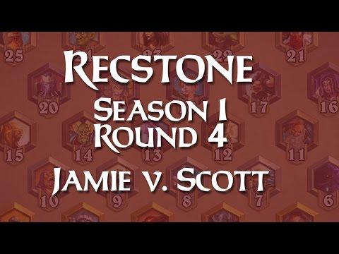RecStone Season 1: Round 4 - Jamie v. Scott