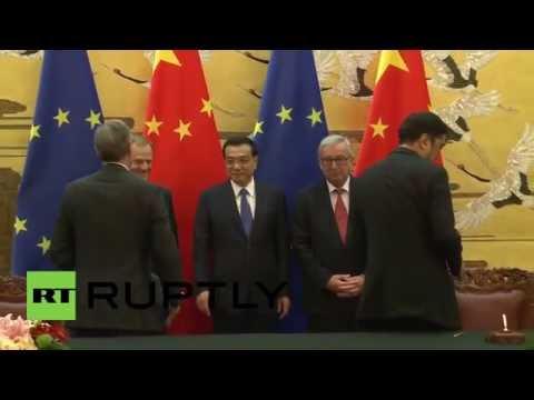 China: EU-China Summit kicks off in Beijing