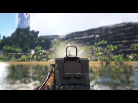 Download Assault Rifle | ARK: Survival Evolved | Shooting Some Stuff