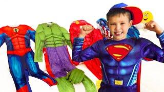 Estilo Max Birthday Party SuperHeroes