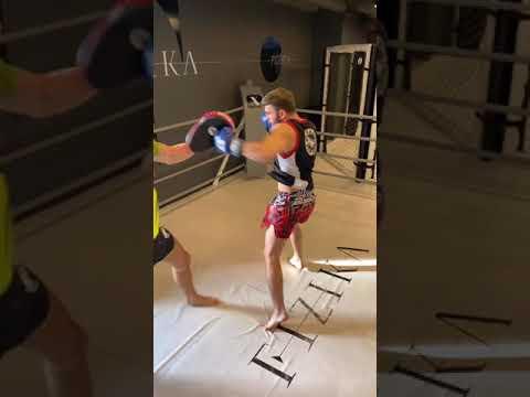 Влад Григорьев тренировка с Виталий Дунец