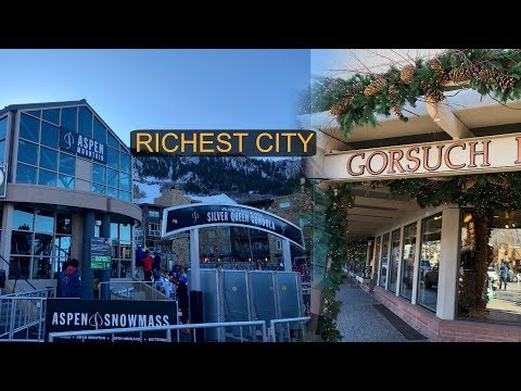 GOING TO THE MOST EXPENSIVE CITY IN COLORADO!! ( ASPEN )