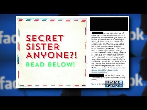 Kristina Kage - Beware: Facebook Scams like 'Secret Sister'