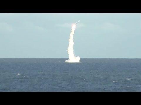 Пуск ракеты «Калибр»