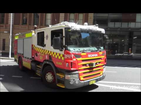 Pump City of Sydney Fire & Rescue NSW
