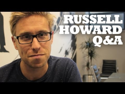 Russell Howard 140 second Twitter Q&A