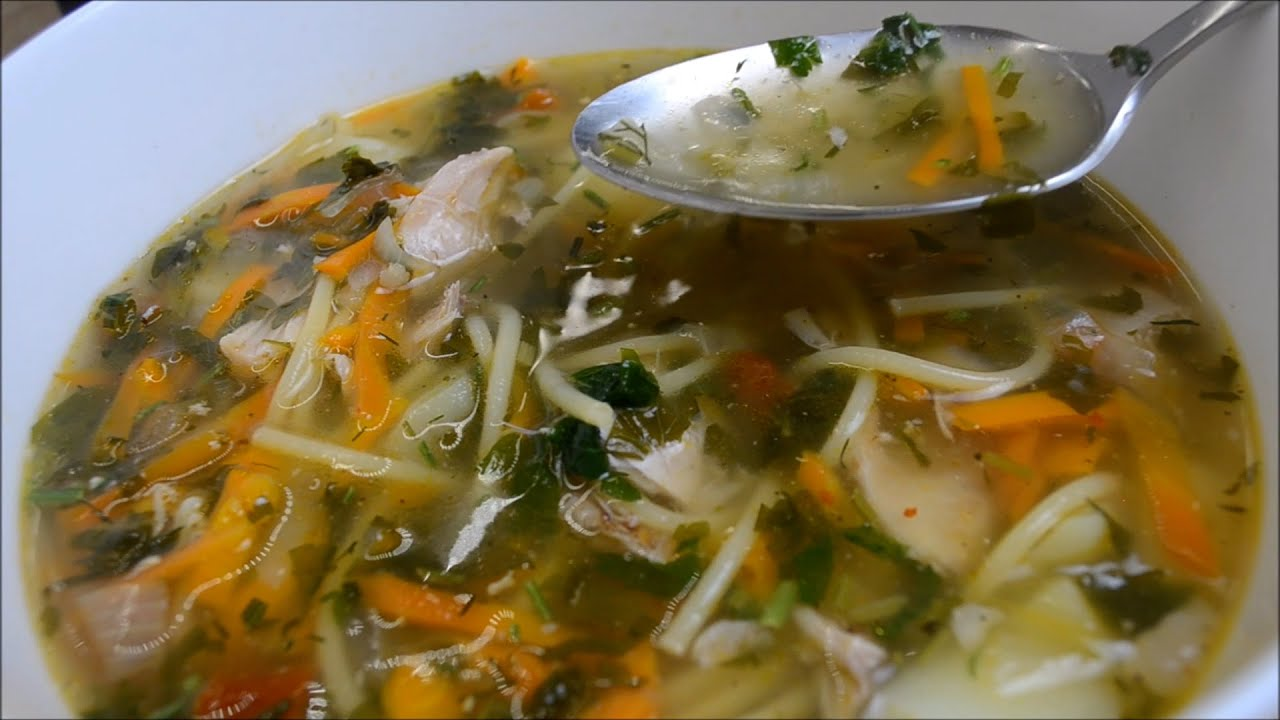 Простой, но очень вкусный суп из кролика с овощами и вермишелью. Даже дети в восторге!
