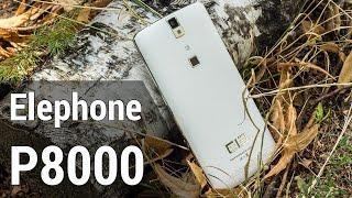 elephone P8000  видео обзор