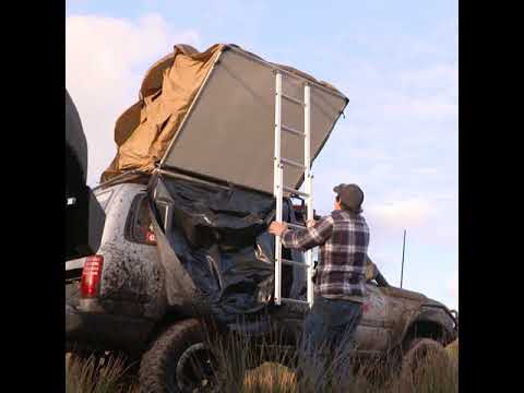 Roof top tent range & Roof top tent range - YouTube