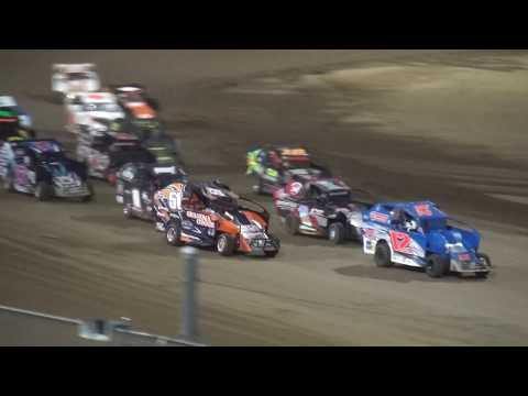 Indee Car Season Championship feature Independence Motor Speedway 8/19/17