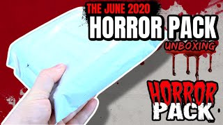 What's inside the Horror Pack Subscription for June 2020? | Video Unbagging