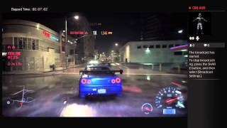 Police Chase Nissan Skyline V-Spec Need For Speed Deluxe Edition daze905