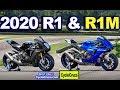 2020 Yamaha YZF-R1 & YZF-R1M