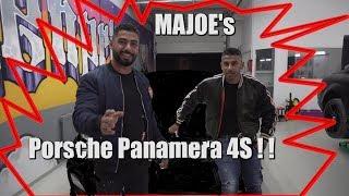 Majoe's Porsche wird geprinzt !!! ALUMINIUM BRUSHED