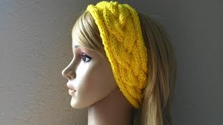 how to knit a braided headband lilu s handmade corner video 33