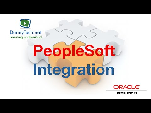 Learn PeopleSoft Integration