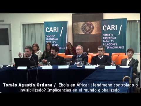 Ébola en África - Tomás Agustín Orduna PARTE 1