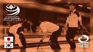 Japan v Korea - Bronze medal - LGT World Women's Curling Championships 2019