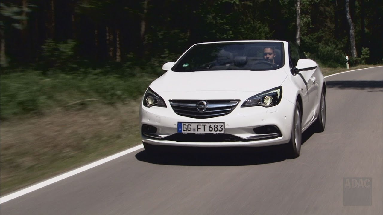 opel cascada im test autotest 2013 adac youtube. Black Bedroom Furniture Sets. Home Design Ideas