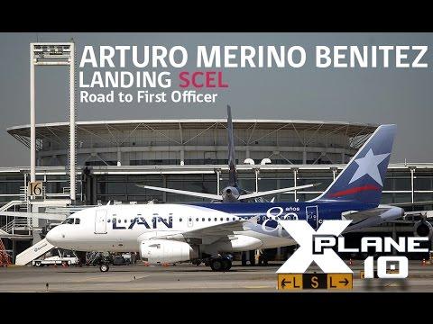XPLANEᴴᴰ: Full Landing - Santiago(SCEL) ⚫A320neo⚫ LATAM Virtual