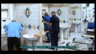 Tiling Courses from UK Trades Training