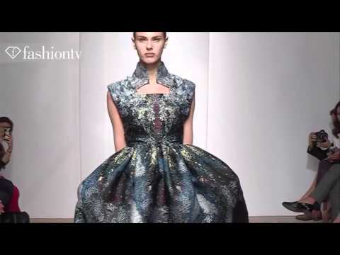 Yiqing Yin Couture Fall Winter 2013 14 Show Paris Couture Fashion Week FashionTV
