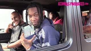 Offset From Migos Pulls Out $100,000 Cash While Speaking On Cardi B Engagement & Meek Mill 11.7.17