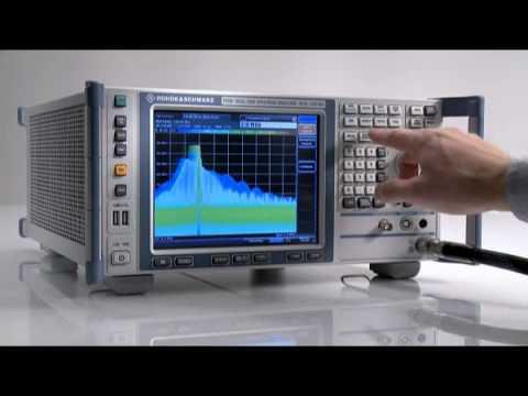 The Rohde & Schwarz FSVR real-time spectrum analyzer