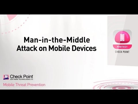 Man-in-the-Middle Attack on Mobile Devices | SandBlast Mobile Security