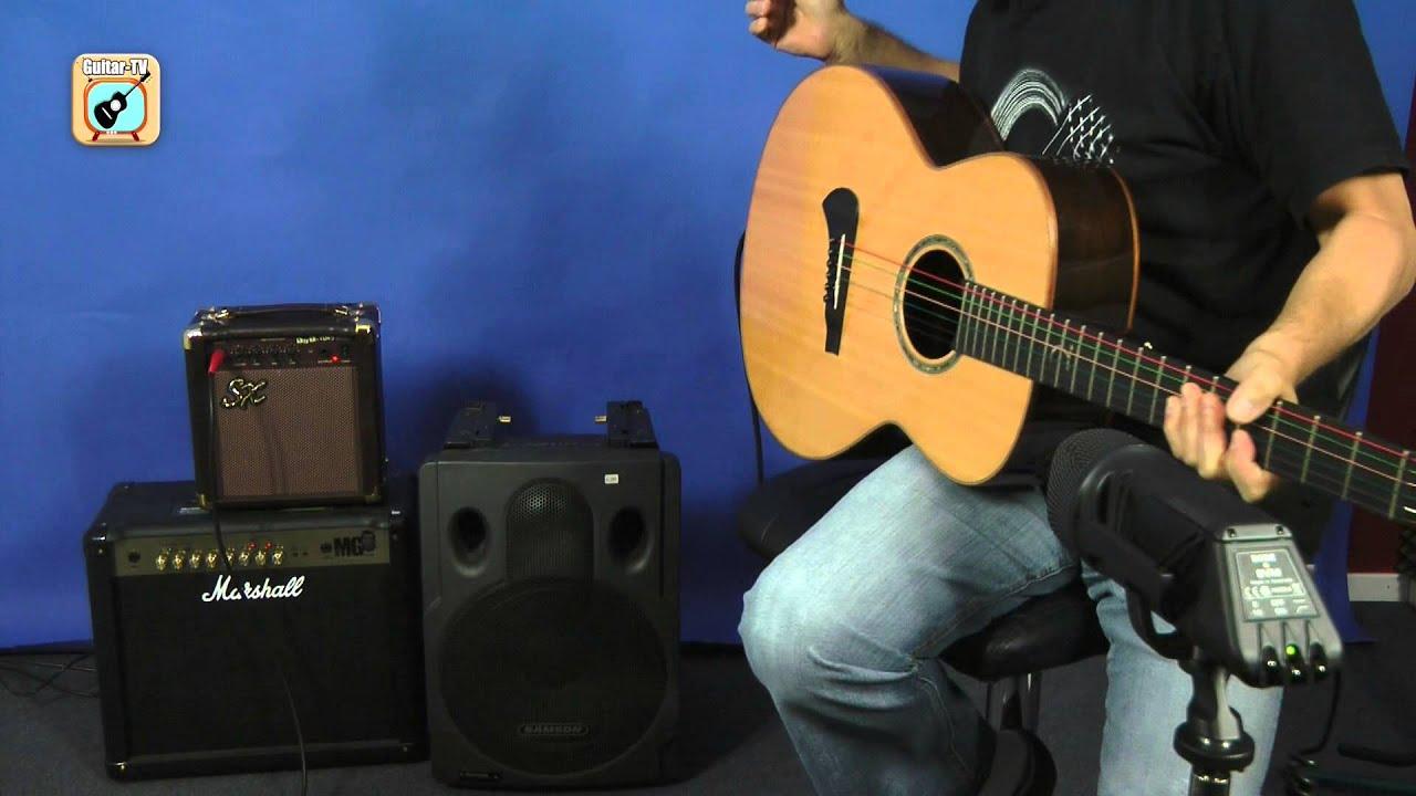 Kann ich einen E-Gitarrenamp für eine Akustikgitarre benutzen? • 100 ...