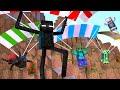 Minecraft : SALTO DE PARAQUEDAS  - Escola Monstro Férias #01 | Monster School Minecraft