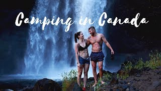 CANADA TRAVEL VLOG   CAMPING IN CANADA!